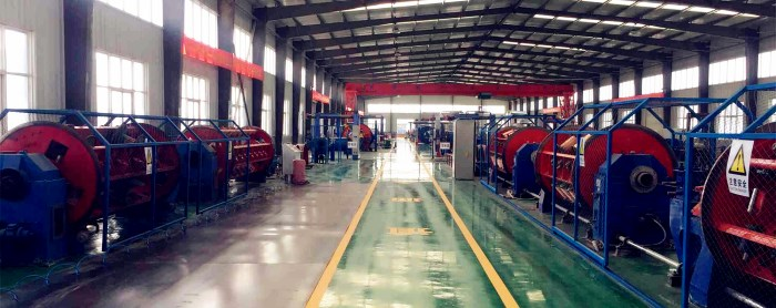Huadong aluminum armoured cable factory